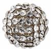 Swarovski Bead 40515 Round 15mm Silvershade Crystal